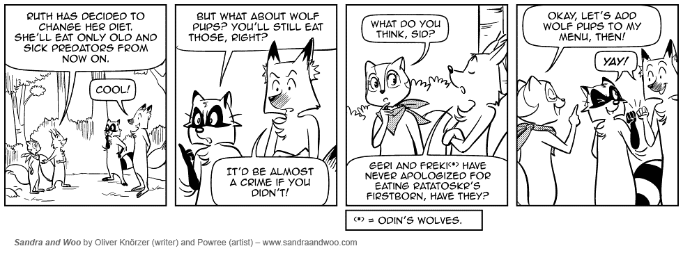 [0491] Nothing For Wolf Fans