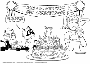 Sandra and Woo: [5 Years] Mouse Cake Is Best Cake!
