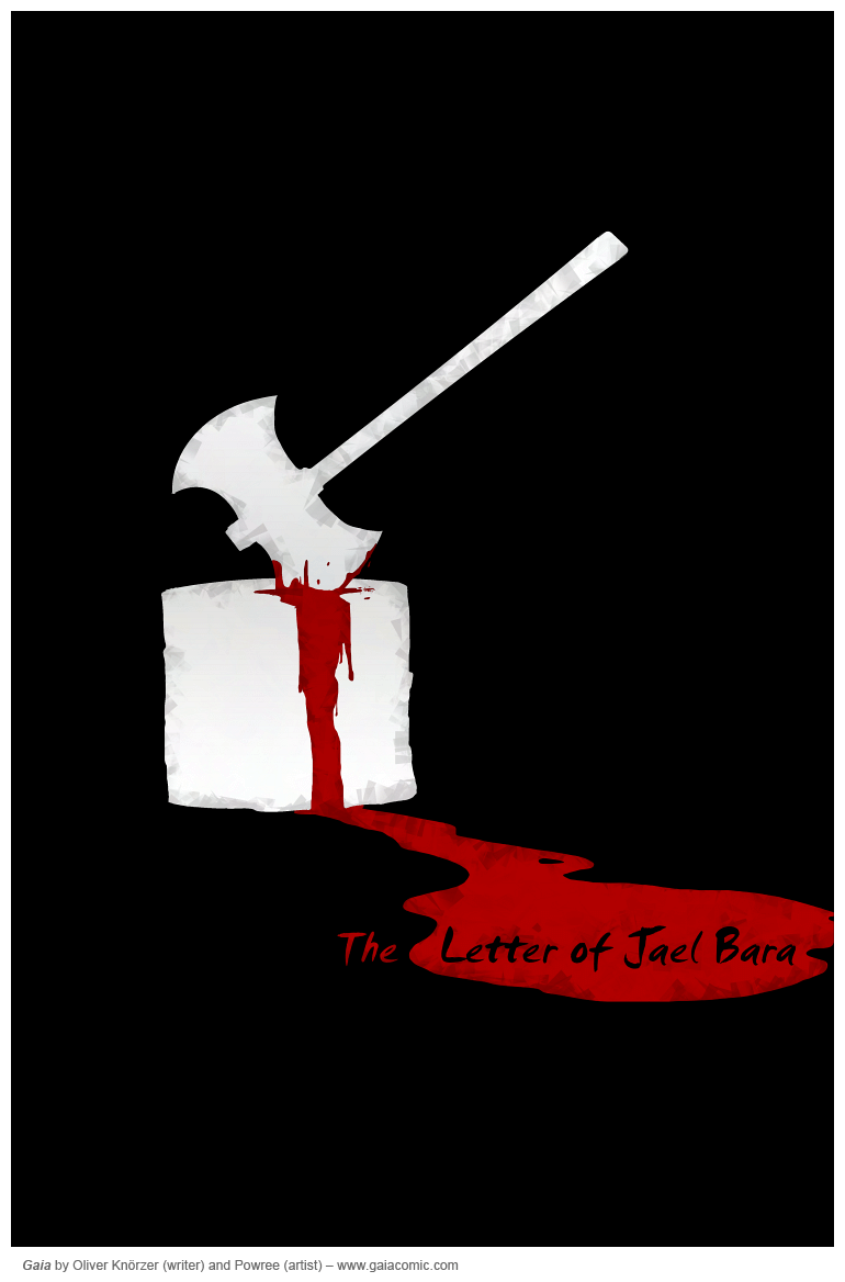 The Letter Of Jael Bara Cover