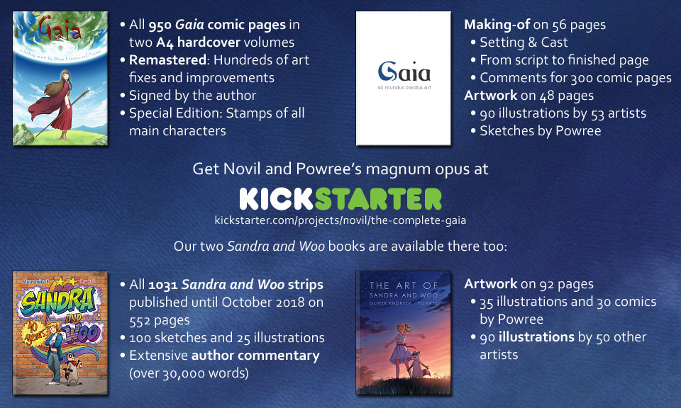 The Complete Gaia at Kickstarter