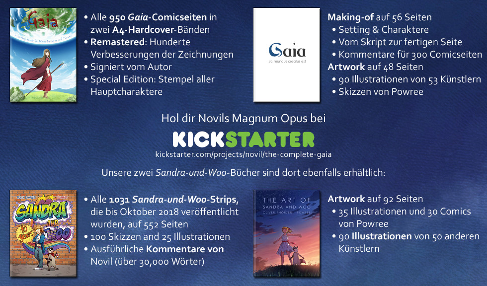 The Complete Gaia bei Kickstarter