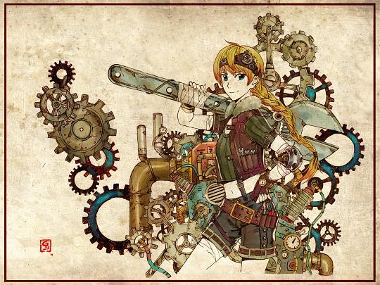 Manusia-no-31: Steampunk Larisa