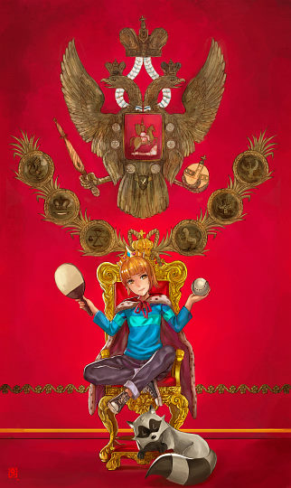 Manusia-no-31: The Empress of Russia