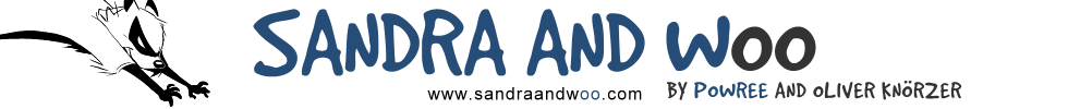 Sandra and Woo Logo