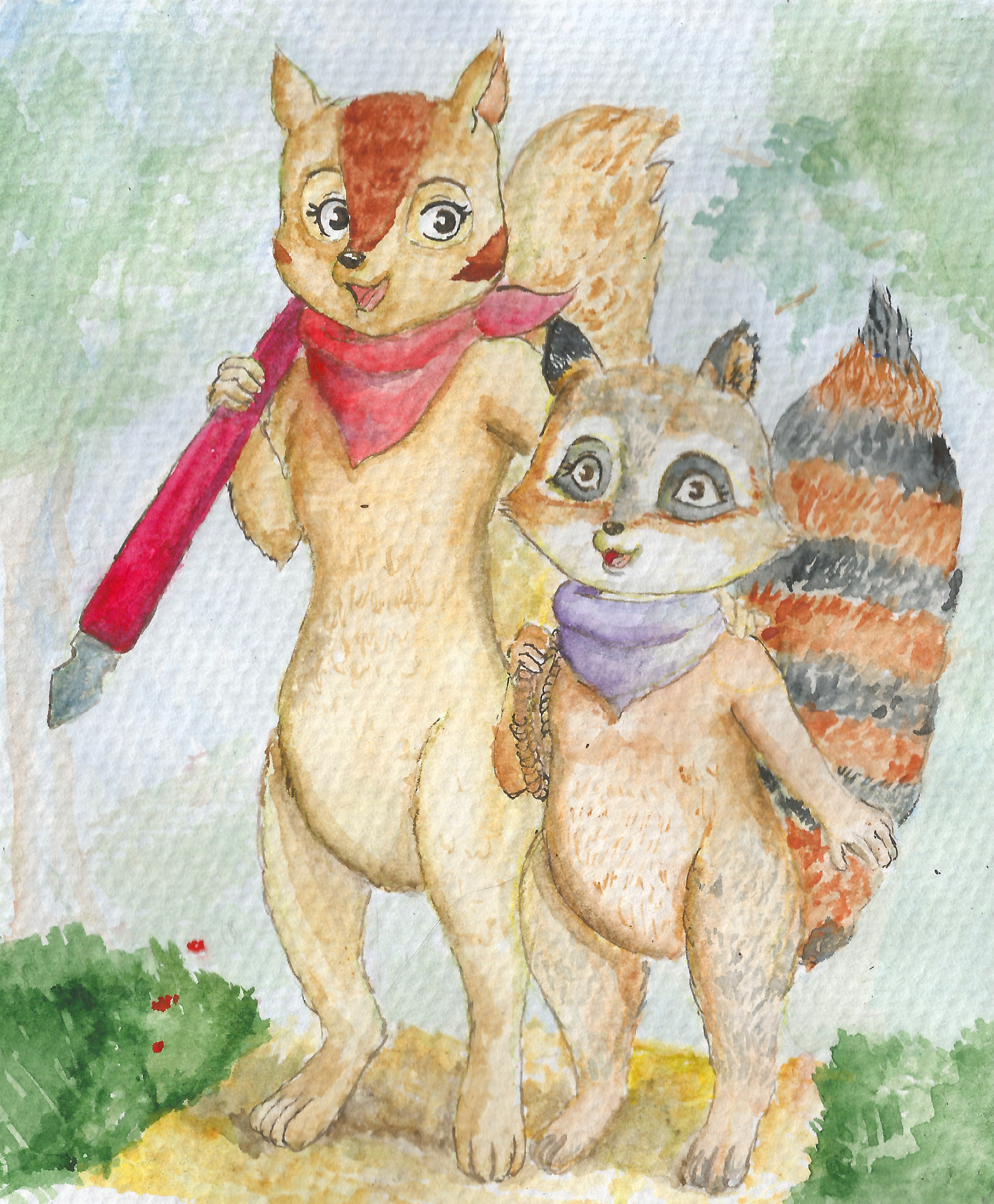 Watercolor artists websites - By Natalia Januchta Website Artist S Comment I Ve Decided To Draw Vega Being Corrupted By Ruth Into Hunting Bigger Prey This Nice Watercolor Drawing