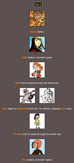 The Webcomic Hunger Games: Day 3