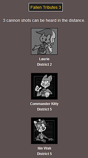 The Webcomic Hunger Games: Fallen Tributes 3