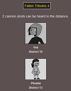 The Webcomic Hunger Games: Fallen Tributes 4