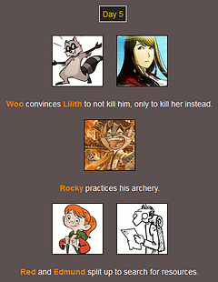 The Webcomic Hunger Games: Day 5