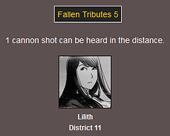 The Webcomic Hunger Games: Fallen Tributes 5