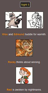 The Webcomic Hunger Games: Night 5