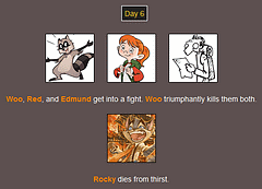 The Webcomic Hunger Games: Day 6