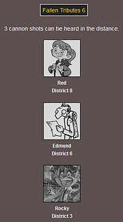 The Webcomic Hunger Games: Fallen Tributes 6