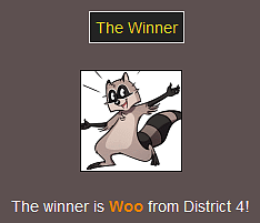 The Webcomic Hunger Games: The Winner