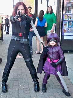 Aeris as Hit-Girl