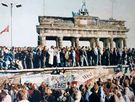 The Fall of the Berlin Wall, 9. November 1989
