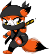 NINJA FOXES! YAY!