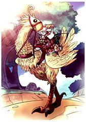 Final Fantasy XIV Fanart by Powree