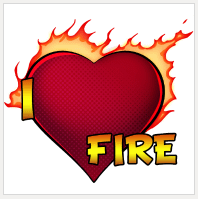 Design I Love Fire | Sandra and Woo Store at Spreadshirt