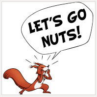 Design Let's Go Nuts! | Sandra and Woo Store at Spreadshirt