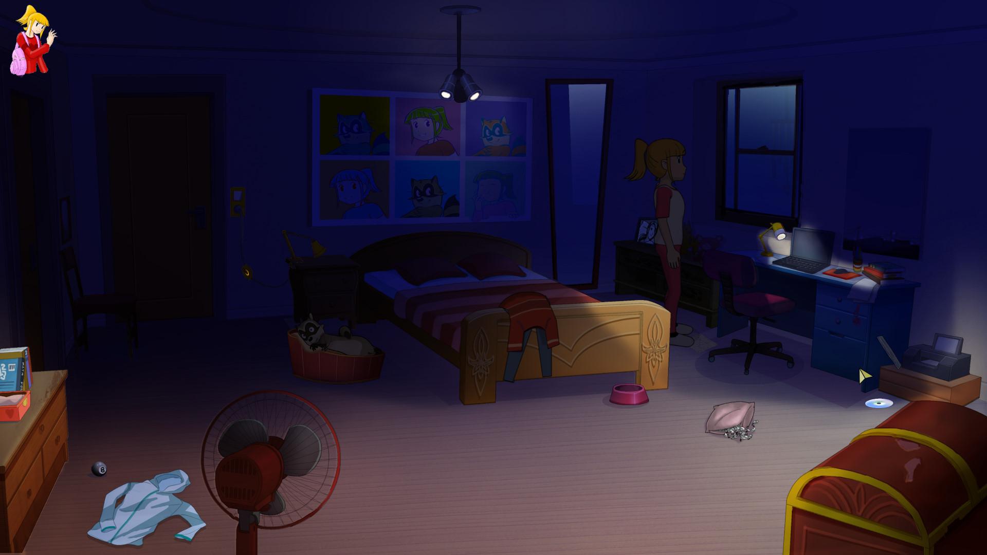 Room Escape Computer Game