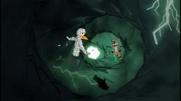 Screenshot from Sandra and Woo in The Cursed Adventure