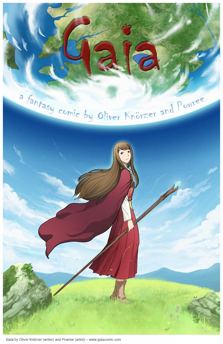 Gaia Webcomic gaia » cover | the fantasy webcomic