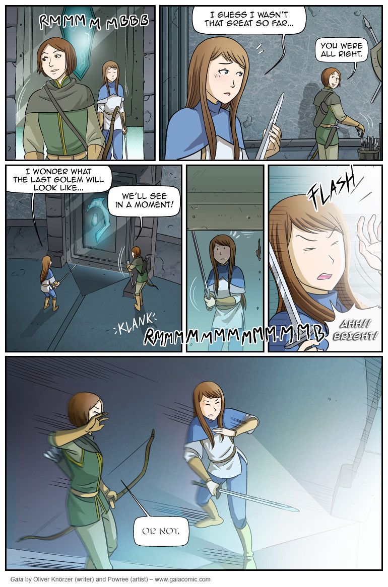 Gaia Webcomic gaia » the red hall 019 | the fantasy webcomic