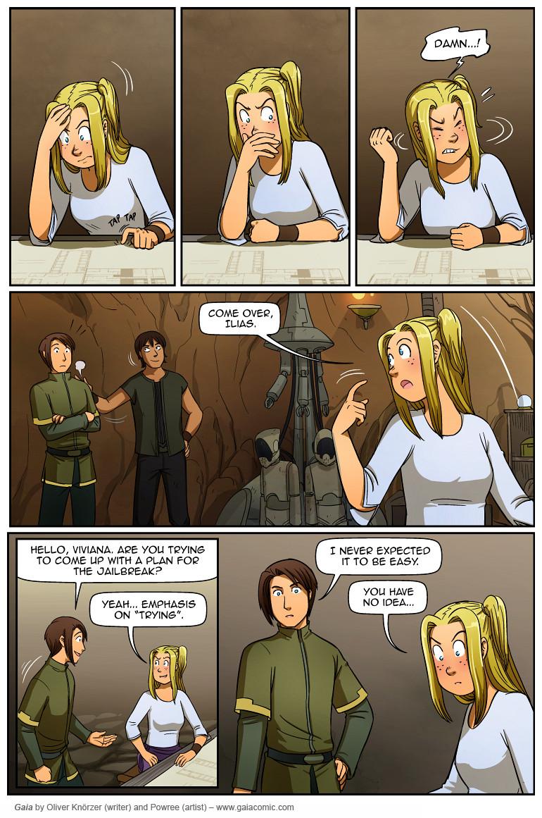 Gaia Webcomic gaia » shadowdancers 074 | the fantasy webcomic