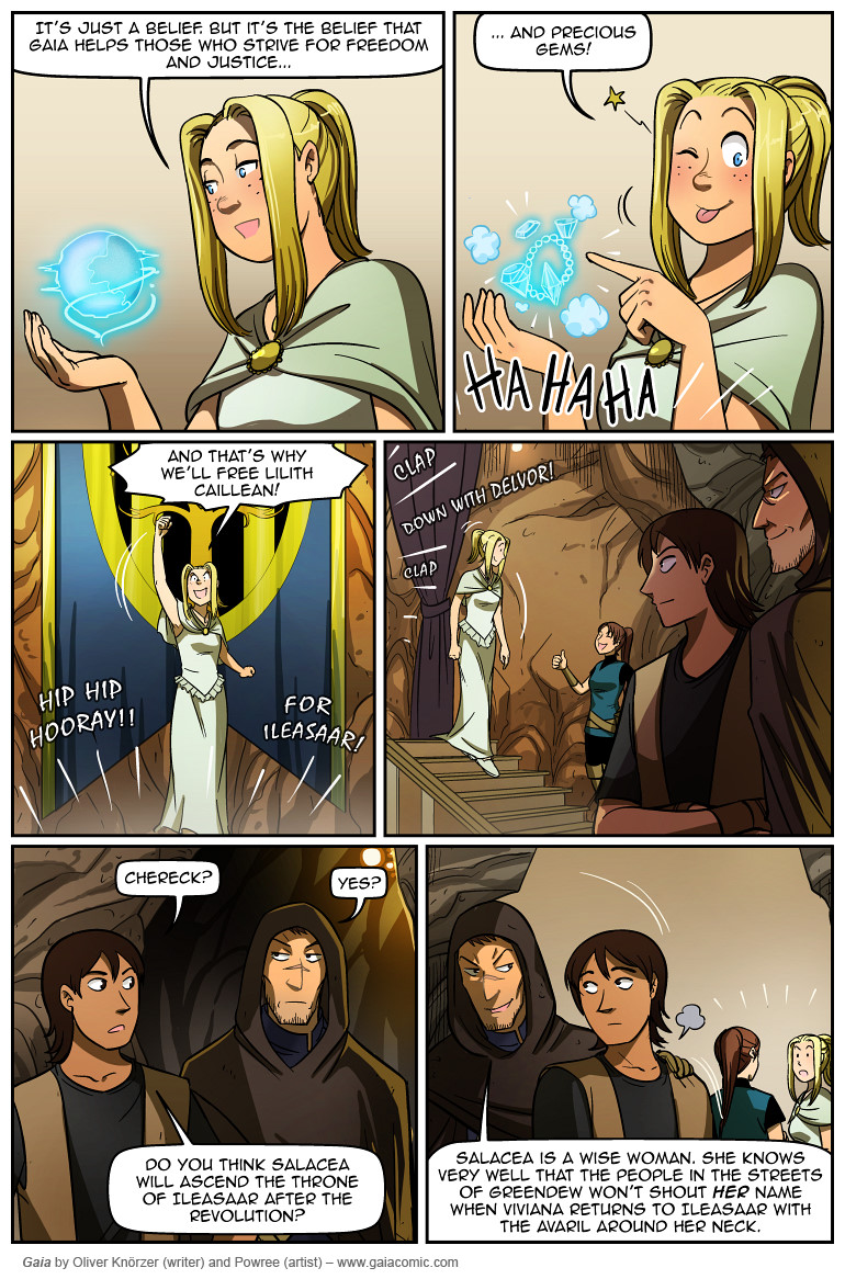Gaia Webcomic gaia » the tower in the sky 011 | the fantasy webcomic