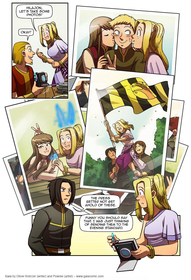 Gaia Webcomic gaia » breaking all barriers 012 | the fantasy webcomic