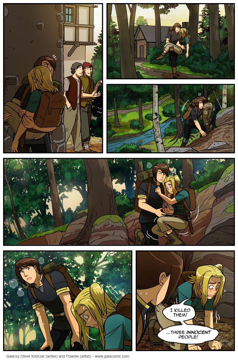 Gaia Webcomic webcomics - crop + link (new rules on page 1) - page 72
