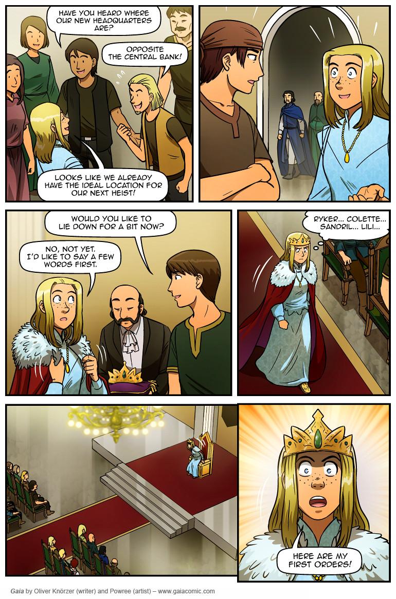 Gaia Webcomic gaia » the last queen of gaia 022 | the fantasy webcomic