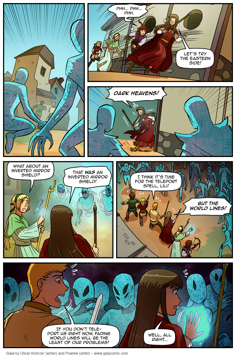 Gaia Webcomic gaia | the fantasy webcomic